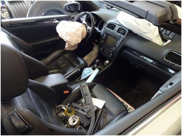 VW Golf 6 Cabrio 1.6 TDI nur für Ersatzteile