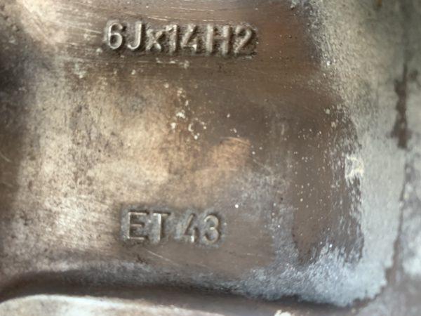 Komplett Rad Alufelgen 14 Zoll VW Lupo Polo 6N/6N2 4stk.