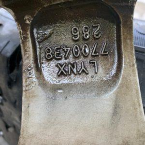Komplett RadAlufelgen 15 Zoll Renault Scenic 1 JA 4stk.