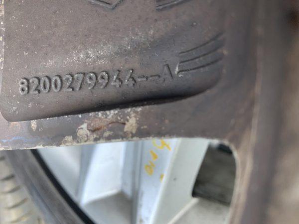 Alufelgen 17 Zoll Renault Scenic 2 JM Megane 2 4stk.