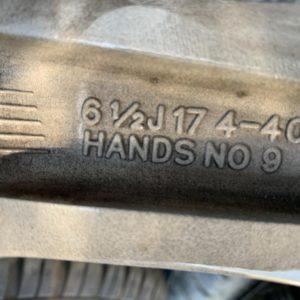 Einzel – Felgen 17 Zoll Renault Captur 3 Stk