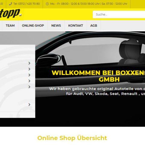 Jetzt Neu – mit Online Shop