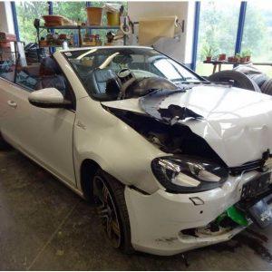 VW Golf 6 Cabrio 2012 1.6 TDI nur für Ersatzteile